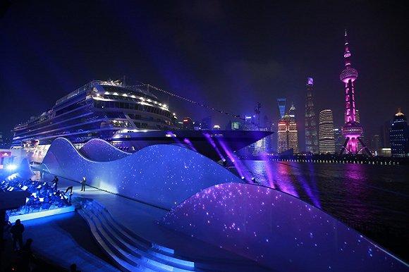 """""""维京太阳号""""环球首航抵上海,维京游轮继续在中国力推目的地深入体验"""