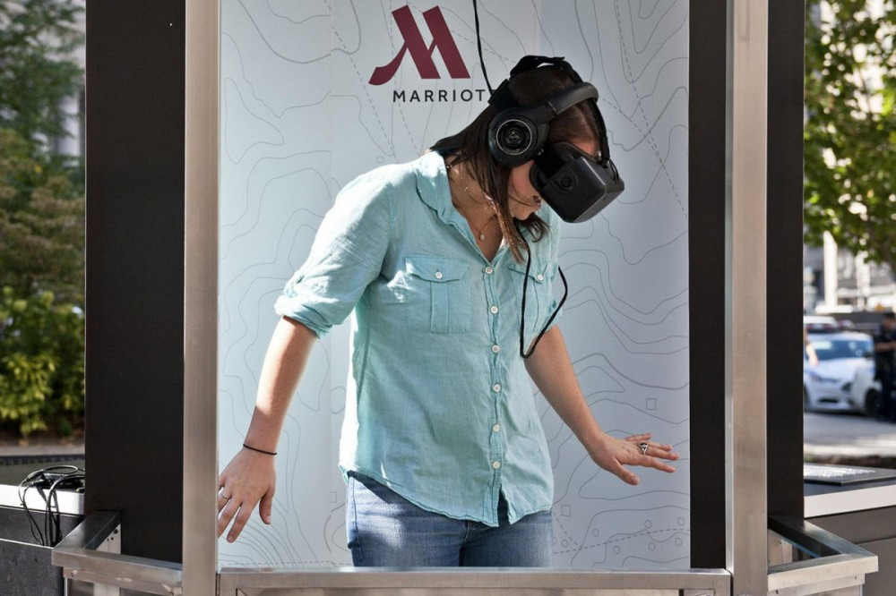 """当我们在谈论""""虚拟旅行""""的时候 所涉及的一切都是真实的"""