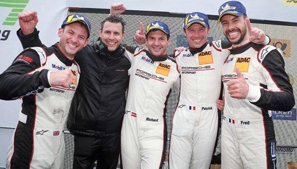 保时捷第12次拿下了24小时耐力赛的冠军