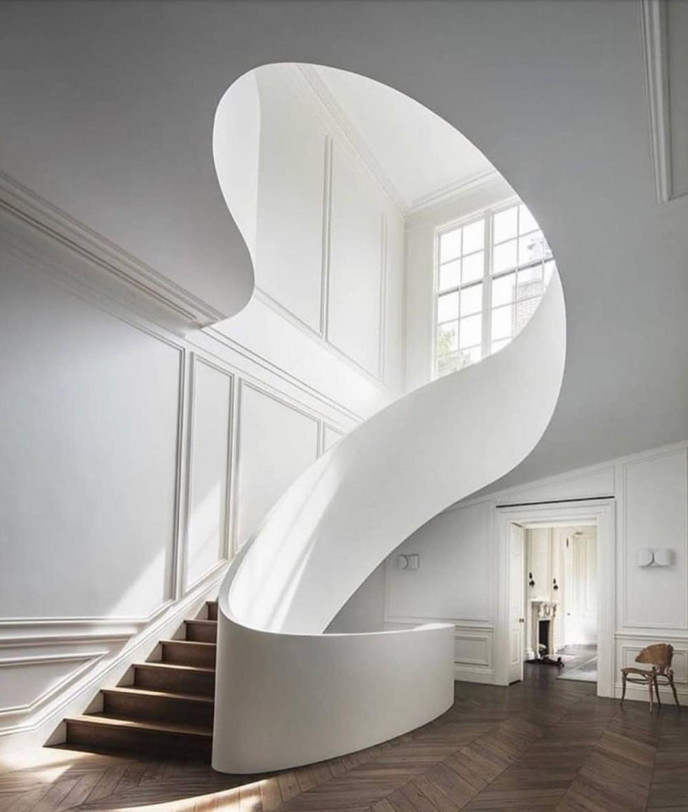25个设计把楼梯玩儿成空间艺术 | DECO Space