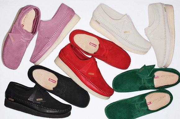 【是日美好事物】被Supreme改造的Clarks大叔鞋 以及能发求救信号又时髦的戒指